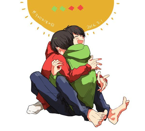 OsoChoro is so cute i mean LOOK at this.