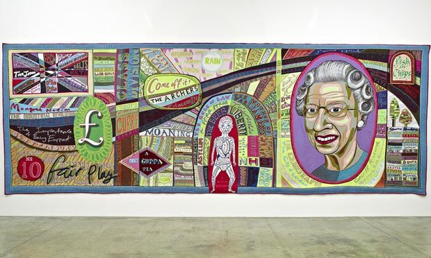 Grayson Perry tapestry