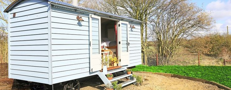 Shepherd Huts in Norfolk from The English Shepherds Hut Co. - Shepherd's Huts for Sale from Norfolk