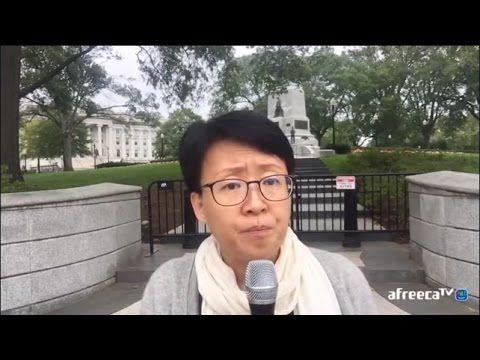 망치부인(후반전 2016. 10. 07) 워싱턴 백악관 앞! 사드 배치 반대 10만 청원, 오바마 정부는 답하라! 사드 배치는 탐욕이다! 평화의 대한민국을 원한다! - YouTube