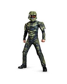 Kids Muscle Master Chief Costume - Halo