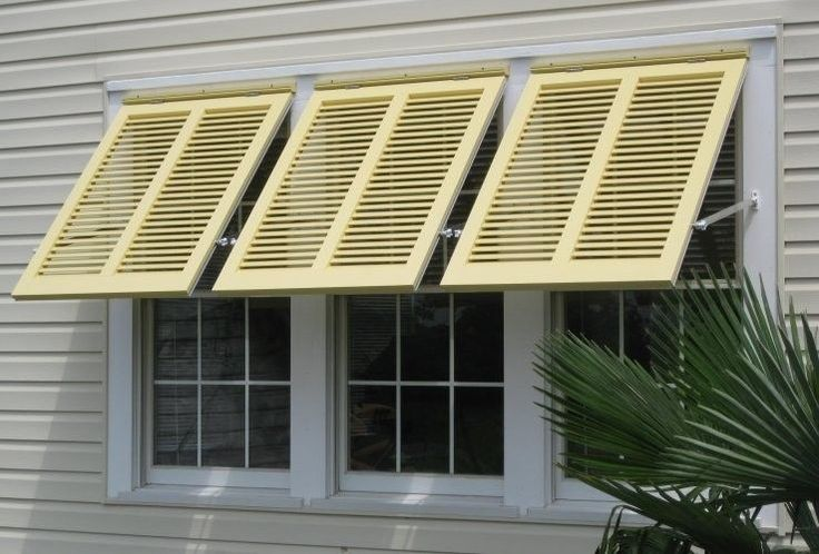 69 best bahama shutters images on pinterest for Bermuda style exterior shutters