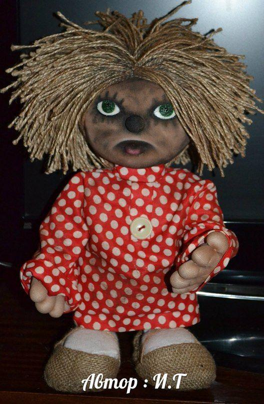 Кукла домовенок из капрона