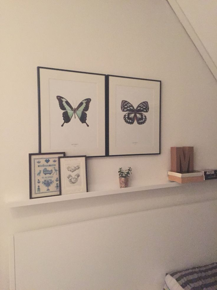 Poster met vlinders van stijlvanhethuis.nl