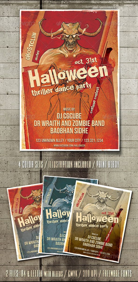 171 best Print Templates images on Pinterest Print templates - Zombie Flyer Template