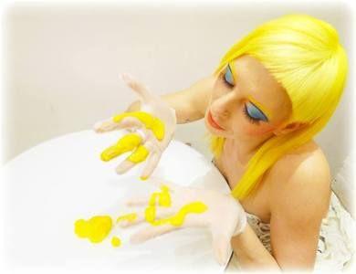 Manic panic sunshine yellow dress