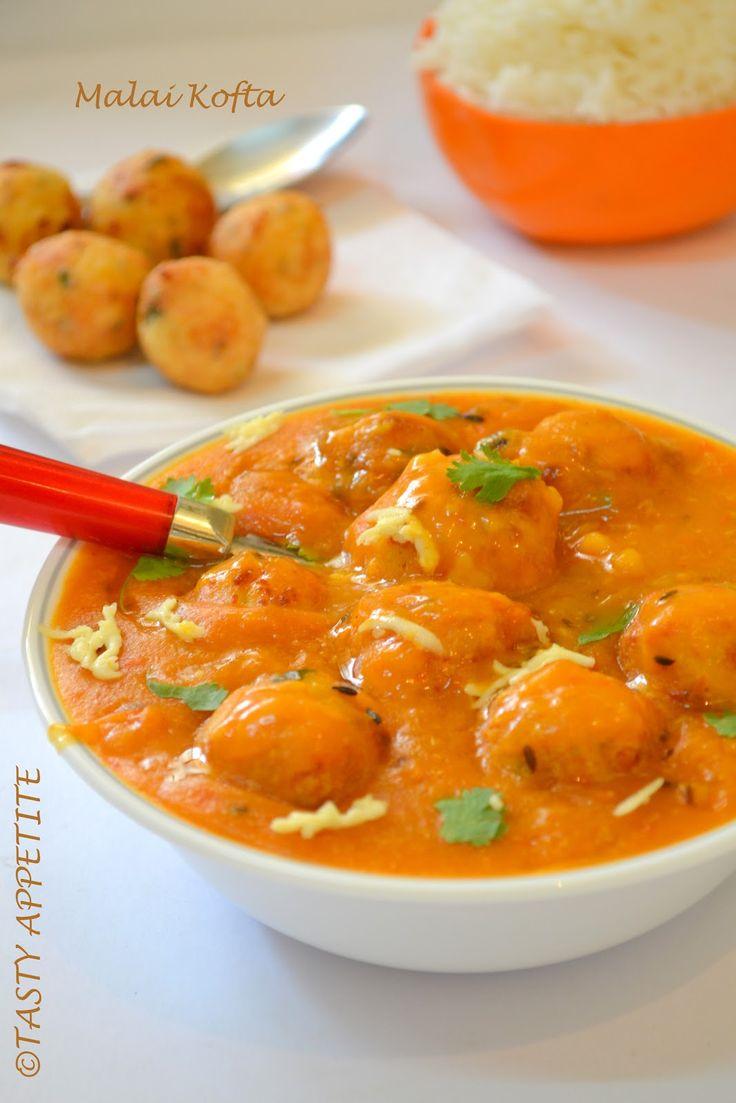 Malai Kofta: / Easy Step wise Recipe;   Tasty Appetite