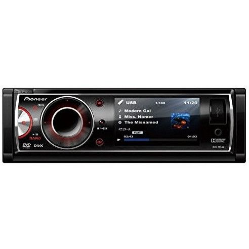 Pioneer Bluetooth DVD Stereo