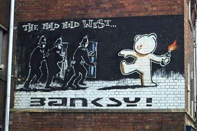 Banksy Walking Tour - Walking Tour in Central Bristol