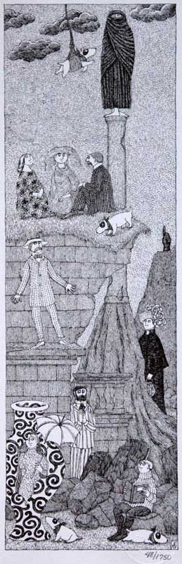 Edward Gorey Dogs