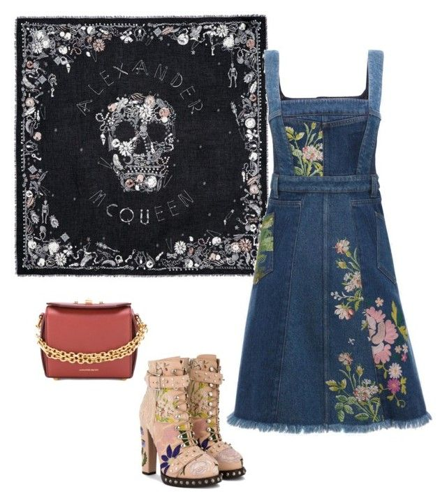 """""""All from Alex"""" by sheere on Polyvore featuring moda i Alexander McQueen"""