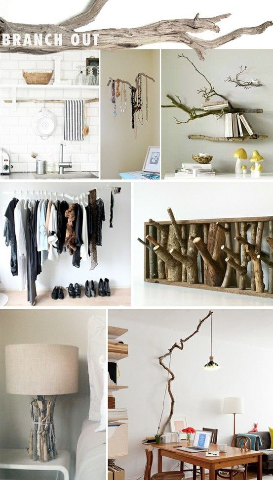 I love the real and raw drift wood coat racks. I do not like the white one because it looks tacky but the framed wood coat rack is clever and amazing.