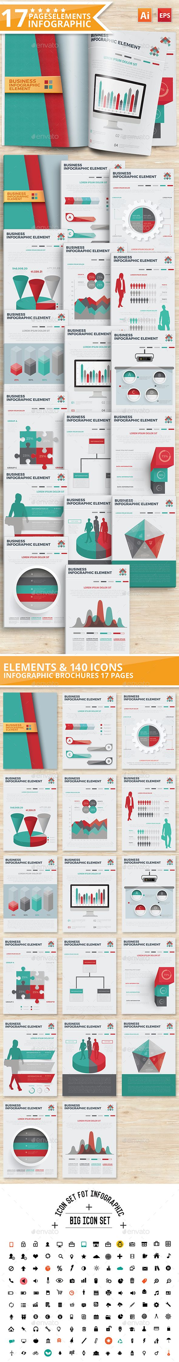 17 Elements Of Infographic Template Vector EPS, AI #design Download: http://graphicriver.net/item/17-elements-of-infographic-design/13571858?ref=ksioks