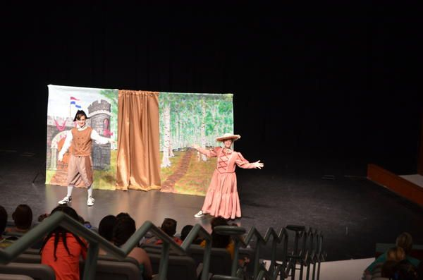 """<div class=""""source"""">KAYLA VAUGHN/The Lancaster News</div><div class=""""image-desc"""">The Vinsaviches perform as Lenny and Mabel at  Thursday's performance of """"Happily Ever After"""" at USC Lancaster.</div><div class=""""buy-pic""""><a href=""""/photo_select/61434"""">Buy this photo</a></div>"""