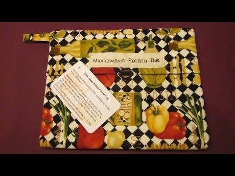 ▶ How to Sew a Microwaveable Potato Bag DIY - YouTube