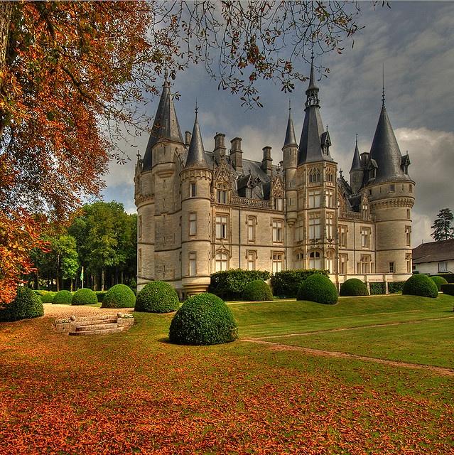 Chateau du Nozet, Loire Valley, France