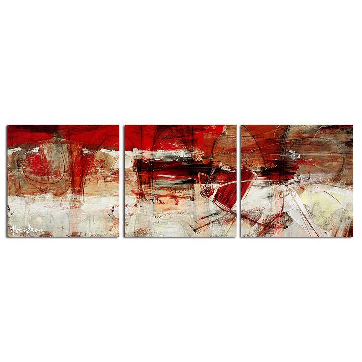 alexis bueno u0027bueno exchange xlu0027 canvas triptych art print shopping