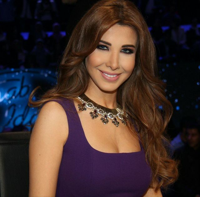 Nancy Ajram shared the above photo of her on Instagram during this week elimination episode of Arab Idol 2014. Description from lebanesecelebritynews.wordpress.com. I searched for this on bing.com/images