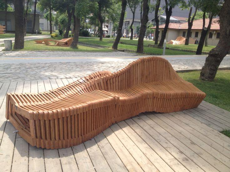 Kinetic Bench Urban Furniture Something Designed