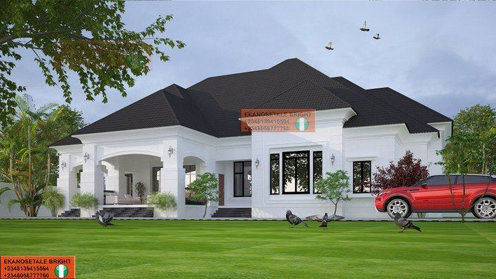5 Bedroom Bungalow House Plans Lovely Architectural Design 5 Bedroom Bungalow Nairaland Free House Plans Bungalow House Plans House Plan Gallery
