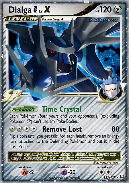 pokemon    ex   Pokemon Card of the Day: Dialga G Lv. X (Platinum)   Primetime Pokemon ...
