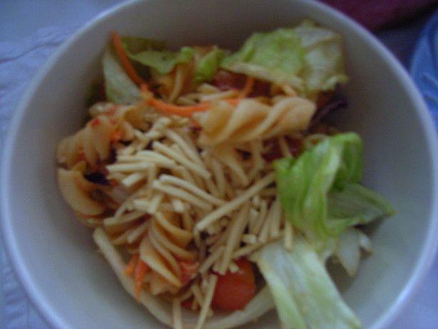 Linguini Salad (Pasta Salad)