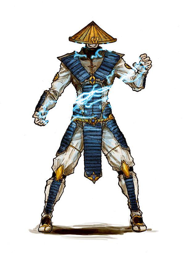 Raiden- Mortal Kombat on Behance