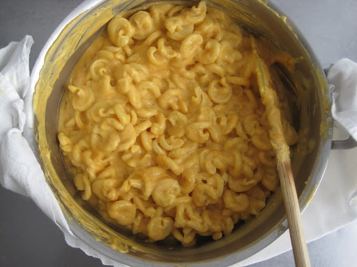 Pumpkin Macaroni and Cheese!