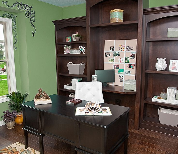 Home Office Color Schemes: Creative Home Office Paint Color Ideas Office Color Design