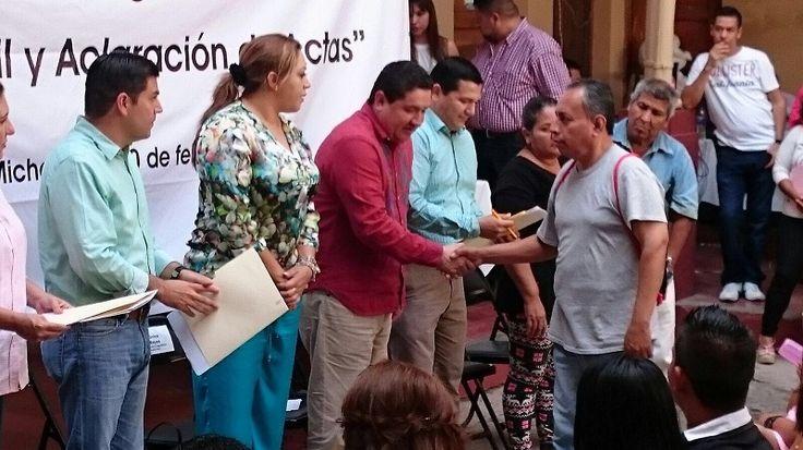 Con la representación del secretario de Gobierno, Adrián López, la subsecretaria de Enlace Legislativo y Asuntos Registrales, Verónica García y el director del Registro Civil, Hugo Gama, encabezaron la instalación ...