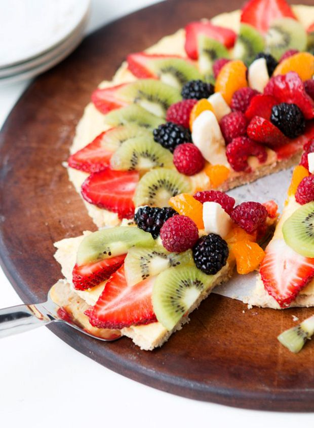 fruit pizza recipe healthy frozen fruit
