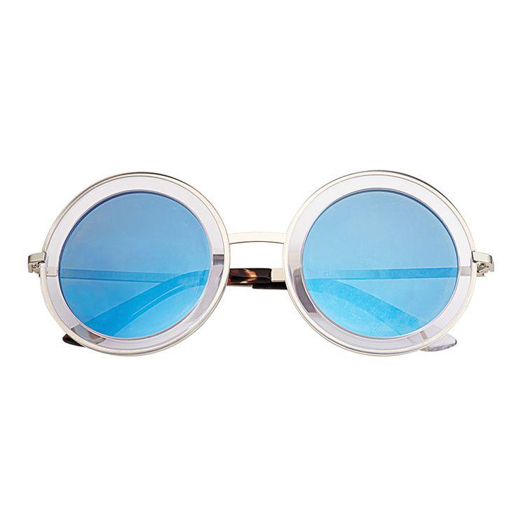 11 lunettes rondes pour en mettre plein la vue les tendances mode printemps t pinterest. Black Bedroom Furniture Sets. Home Design Ideas
