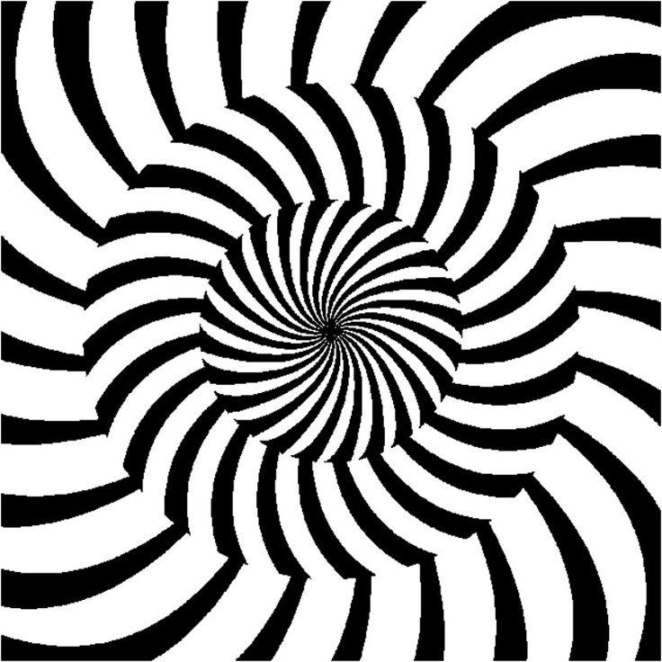 поведение, гиф картинки иллюзии извилистые дорожки, без