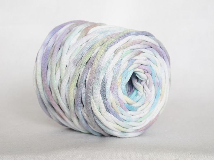 21 besten T-arn (T-shirt Yarn) Projects Bilder auf Pinterest | Diy ...