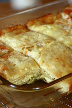 Breakfast Tortilla Casserole. Eggs, chiles, cheese, tortillas