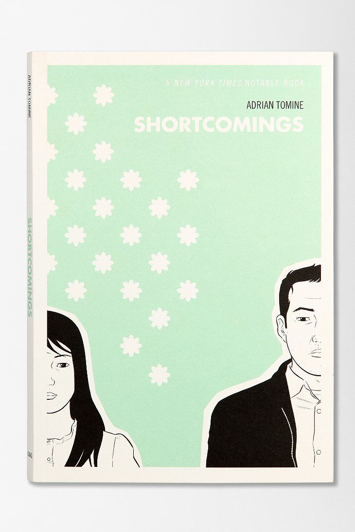 Shortcomings By Adrian Tomine. Graphic novel.