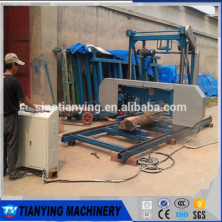 China top sale Computer Controled Portable Horizontal Band Sawmill