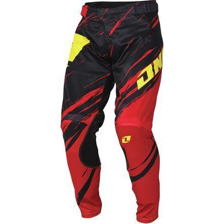 ONE Ind. VAPOR LITE Side Swipe Pants (RED/BLK)