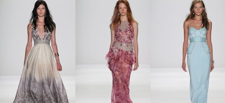 Badgley Mischka Primavara 2015: O colectie de vis si 13 rochii care iti taie respiratia