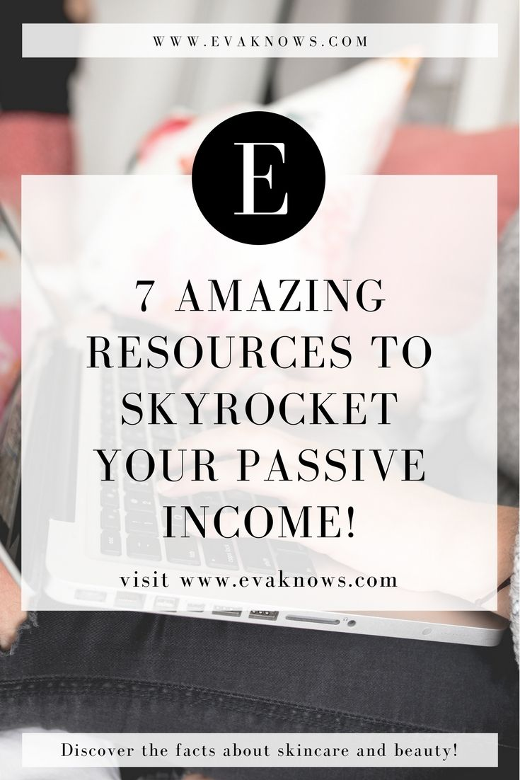 So i've decided to write a super informative blog post (I hope) this week all about the 7 Amazing Resources I've used to help SKYROCKET my passive income. Each of these resources have truly helped my businesses grow from tiny online shops into the money making powerhouses they are today and so I wanted to discuss why I like them so much with you guys and hopefully help you find a few resources and tools that can TRULY help you on your journey to financial freedom.