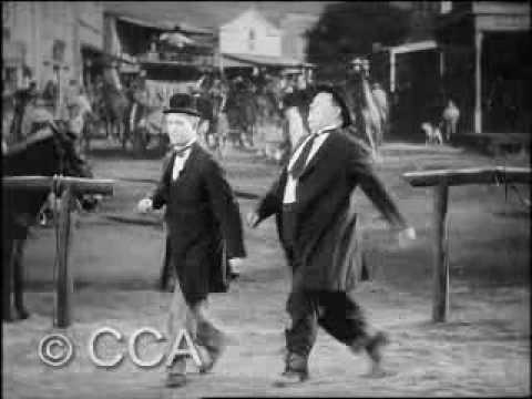 One of Laurel and Hardy's greatest. I defy you to watch this picture from start to finish and not belly-laugh at least a dozen times. Complete genius.