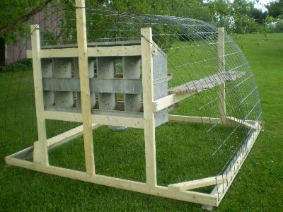 Possible Chicken Tractor Using Livestock Panels