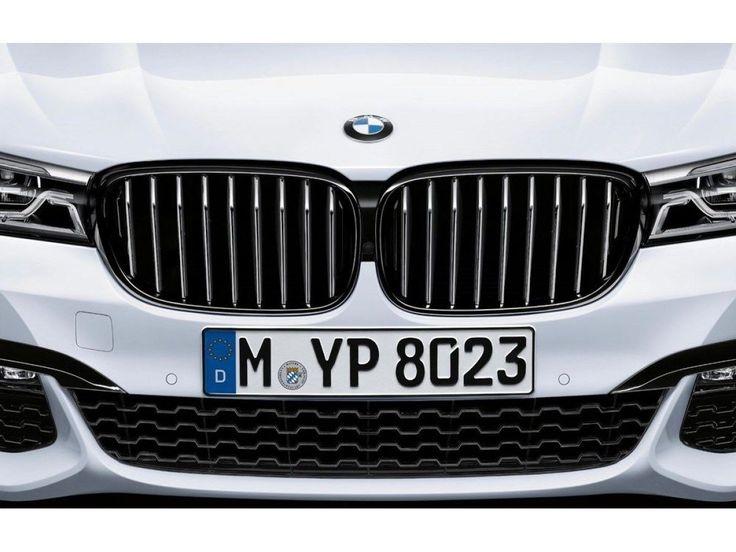 Nice Amazing BMW OEM Black Kidney Grilles PAIR 2016-2017 G11 G12 2016 740i 750iX 51712289685 2017 2018