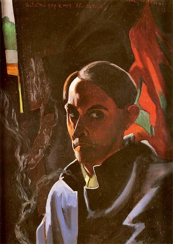 Self-portrait (last cigarette of the convicted)