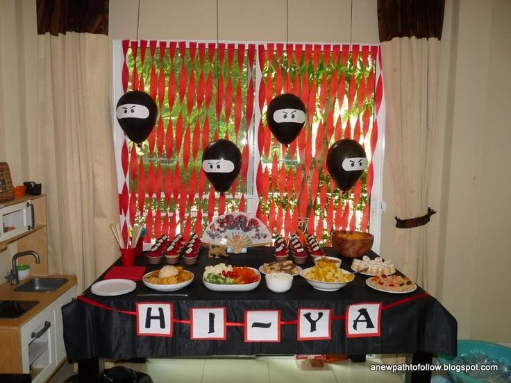 How to Throw a Ninja Party