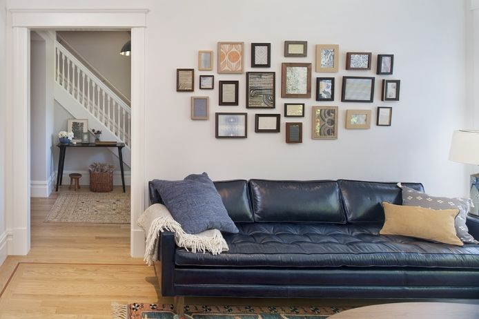 Modern Living Room San Francisco Best Interior Design 12: 25+ Best Ideas About Blue Leather Couch On Pinterest