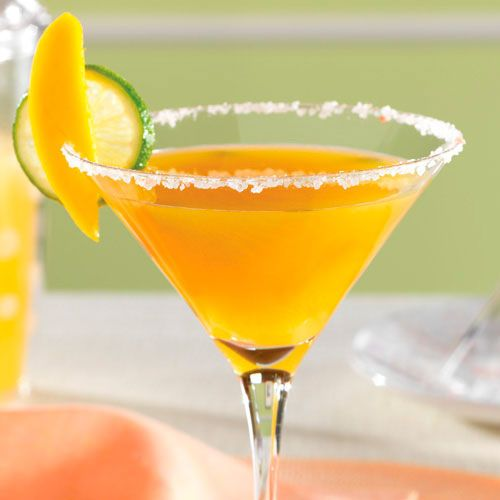Fresh Mango Margaritas