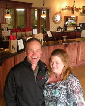 Winemaker Flint Nelson and executive chef Jessica Smith create unforgettable experiences at Kestrel Vintners in Prosser.