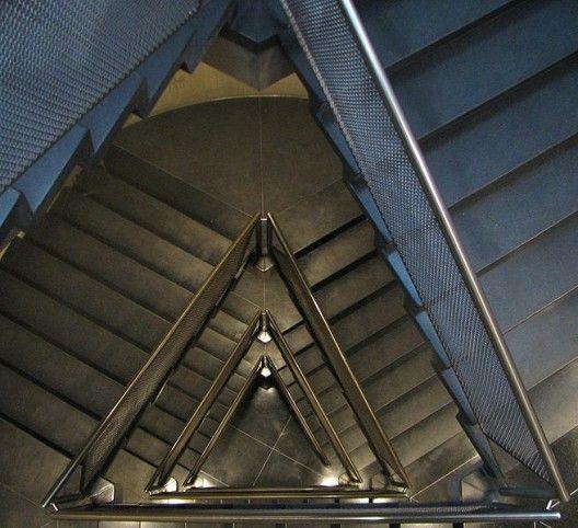 Yale Art Gallery Stair - Looking Down