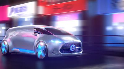 """Mercedes' """"Vision Tokyo"""" is Designed Appeal to Millennials in 2025 [Auto Styling News]"""